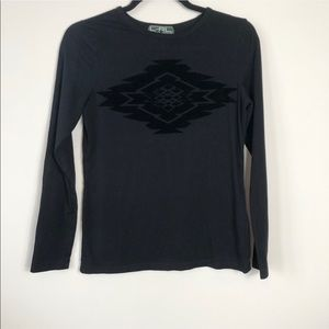 LRL Black Long Sleeve Tee